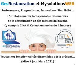 Synthèse fonctionnalités GesRestauration Basic et MysolutionsWEB C&C