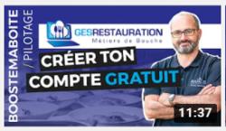 Créer votre compte gratuit GesRestauration